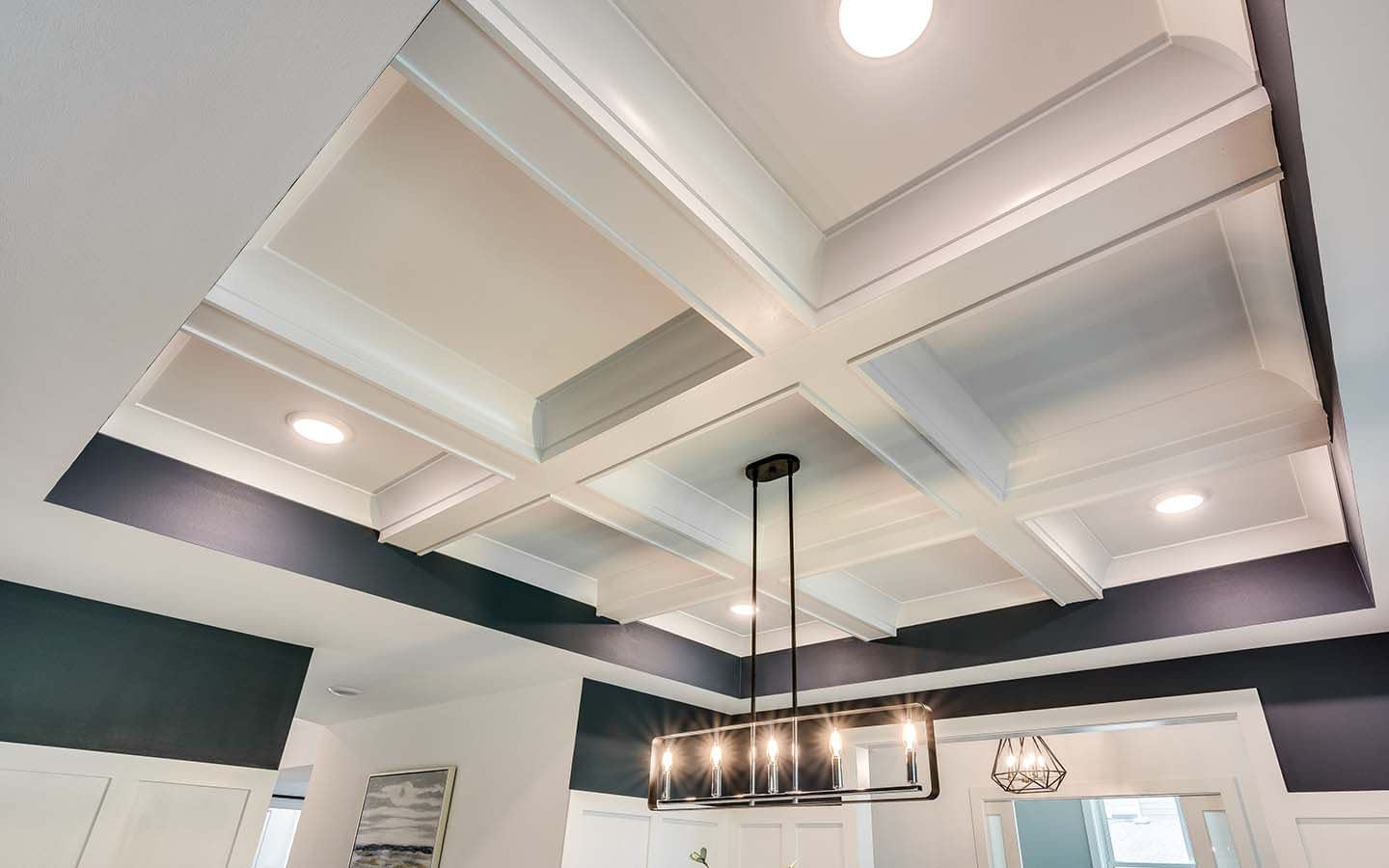 Beautiful Finishes, Lights, & Designs by Chicago Custom Home Builder BrightLeaf Homes